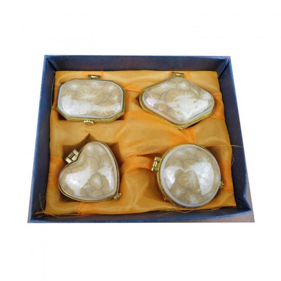 Altın Kutu 4 Lü Küçük Granit (4 Adet)