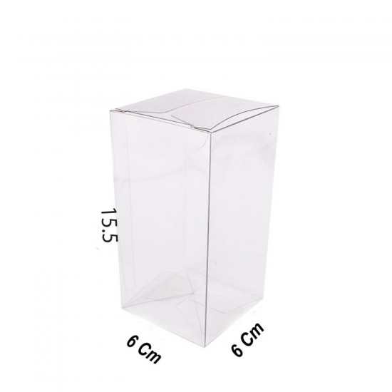 Asetat Kutu 6X6X15.5 CM (25  Adet)
