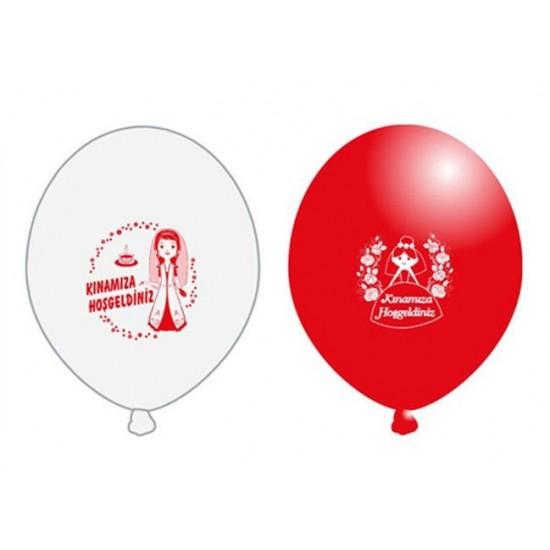 Balon 1+1 Kınamıza Hoşgeldiniz Baskılı (20 Adet)