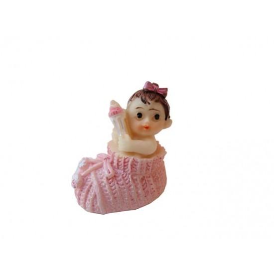 Bebek Şekeri Biblosu Bebek Ayakkabı İçinde (20 Adet)