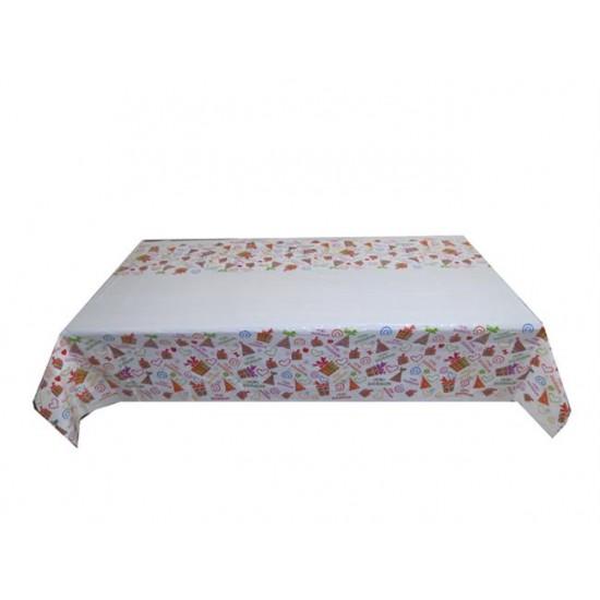 Masa Örtüsü İyiki Doğdun 108X180Cm