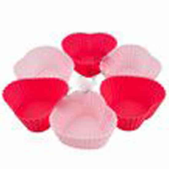 Silikon Kalpli Muffın Cup 6Lı Set