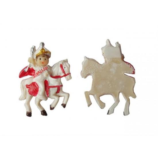 Sünnet Çoçuğu Atlı Kırmızı Pelerinli (20 Adet)