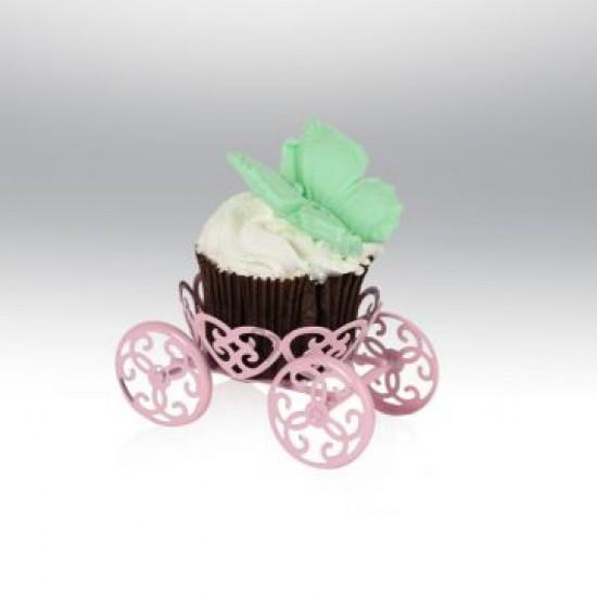 Tekli Metal Cupcake Standı Pembe
