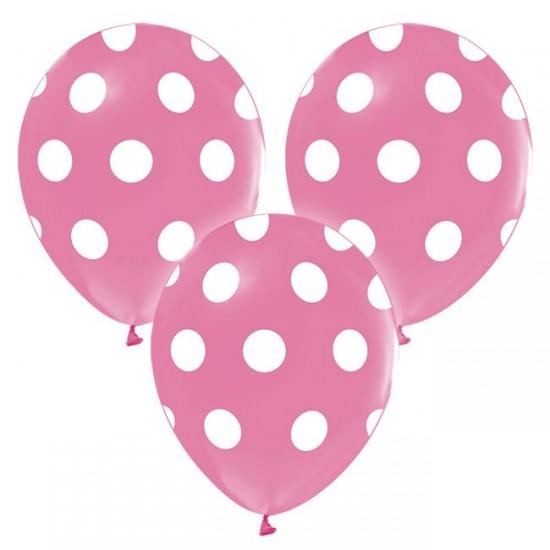Balon 12 İNÇ Çepeçevre Puantiyeli Baskılı (20 Adet)