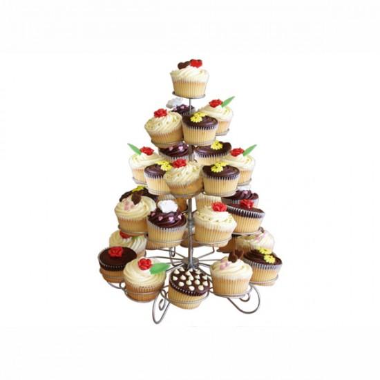 Metal Cupcake Standı 5 Katlı / 41Li Kek Standı