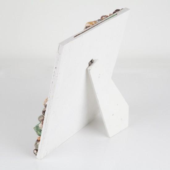 Resim Çerçevesi Beyaz Kabuklu