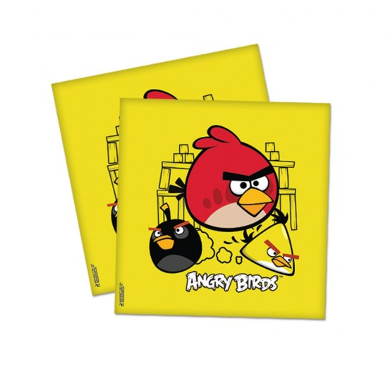 Angry Birds Klasik Temalı Kağıt Peçete 33*33 (16 Adet)
