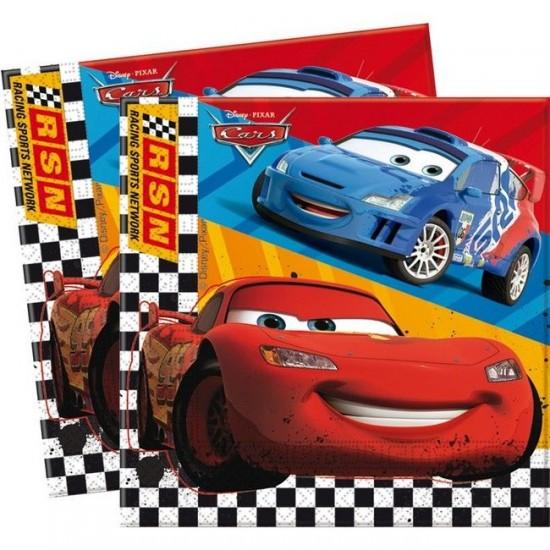 Cars Temalı Kağıt Peçete Rsn 33*33 (20 Adet)