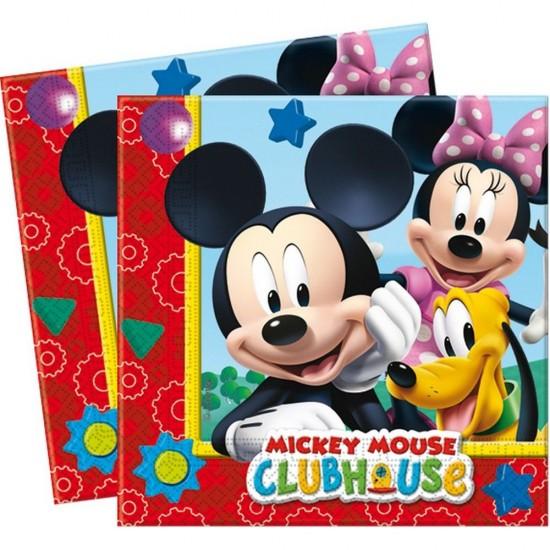 Mickey Playful Temalı Kağıt Peçete 33X33 Cm (20 Adet)