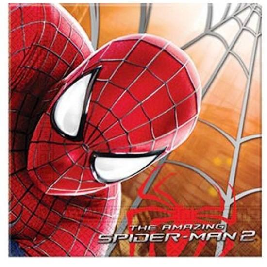 Spiderman The Amazing Kağıt Peçete 33X33 Cm (20 Adet)