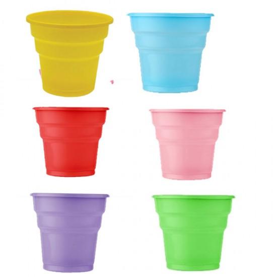 Plastik Bardak Renkli (25 Adet)
