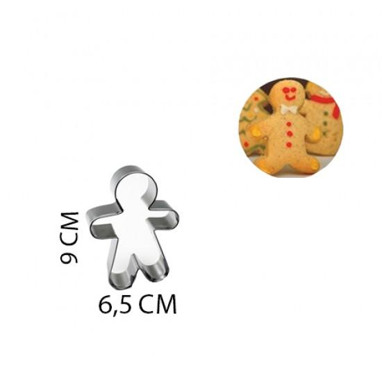 Kek Ve Kurabiye Kalıbı Orta Boy Kopat Kurabiye Adam 9X6.5 CM