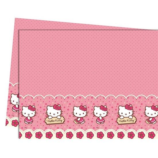Hello Kitty Hearts Temalı Masa Örtüsü 12X180 Cm