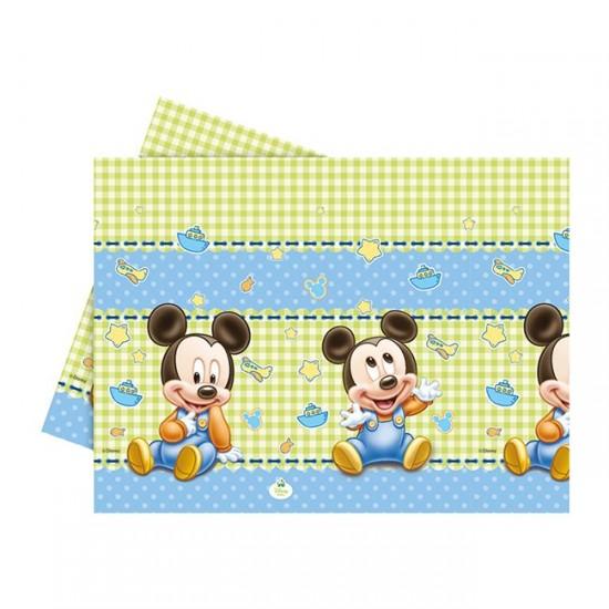 Mickey Mause Disney Temalı  Masa Örtüsü  Baby 120X180 Cm