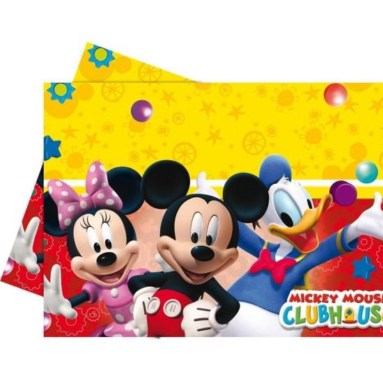 Mickey Mause Playful Temalı Masa Örtüsü 120X180 Cm