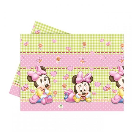 Minnie İısney Baby Temalı Masa Örtüsü 120X180 Cm