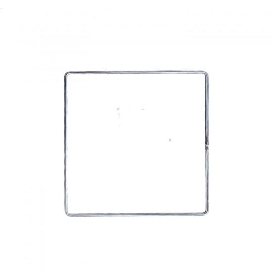 Metal Makrome Teli  Kare Makrome Kalıbı 29 CM
