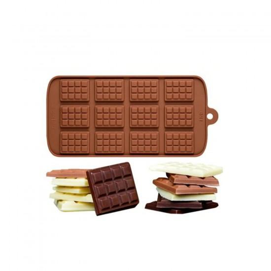 Tablet Silikon Çikolata Kalıbı Mini  12'li  BT1208