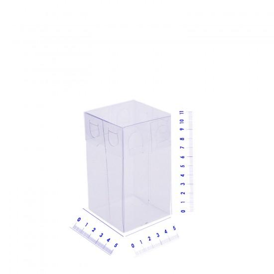 Komple Asetat Kutu 5X5X11 CM (50 Adet)