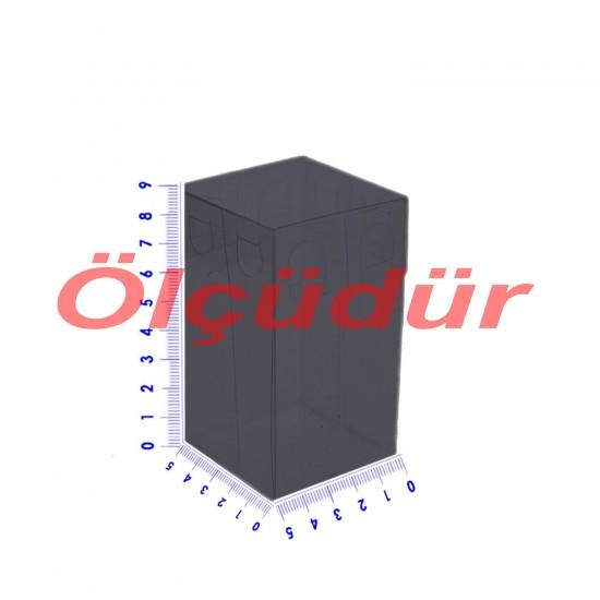 Komle Asetat Kutu 5X5X9 CM (50 Adet)