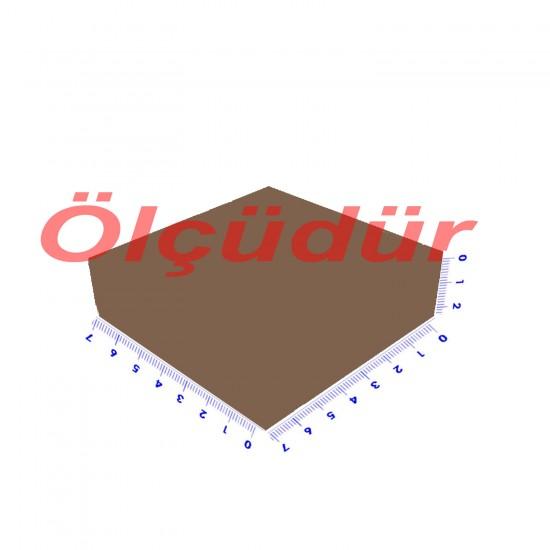 Asetat Kutu Altı Karton 7X7X2.2 CM (50 Adet)