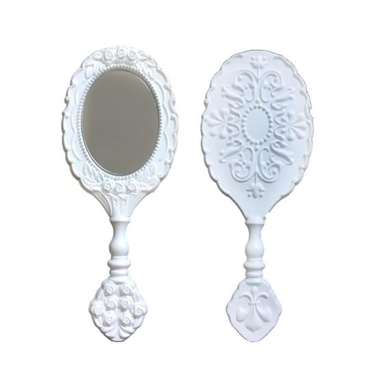 Ayna Güllü Oval Plastik (25 Adet)