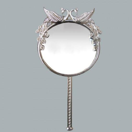 Ayna Tavus Kuşlu Gümüş (10 Adet)