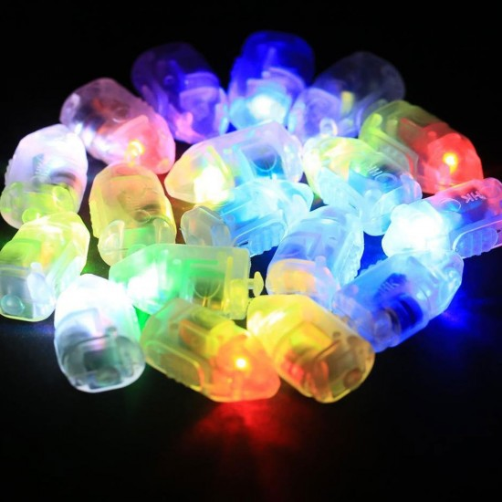 Balon  İçin Mini Led Işık Rengarenk (5 Adet)