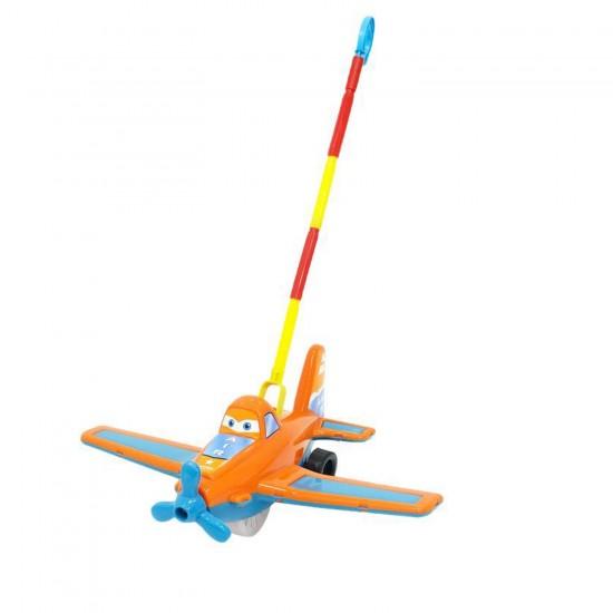 Bayraktar Plastik Hürkuş Uçak Baston Saplı Oyuncak KarışıkRenk554
