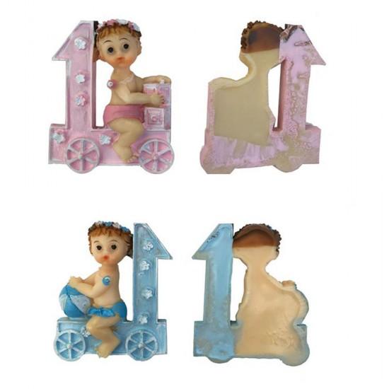 Bebek Şekeri Biblosu Bebek Trende Bir Yaş (20 Adet)