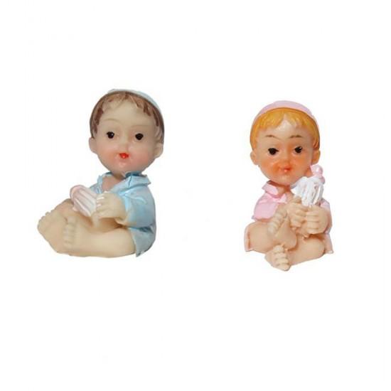 Bebek Şekeri Biblosu Şapkalı Ve Elinde Biberon (50 Adet)
