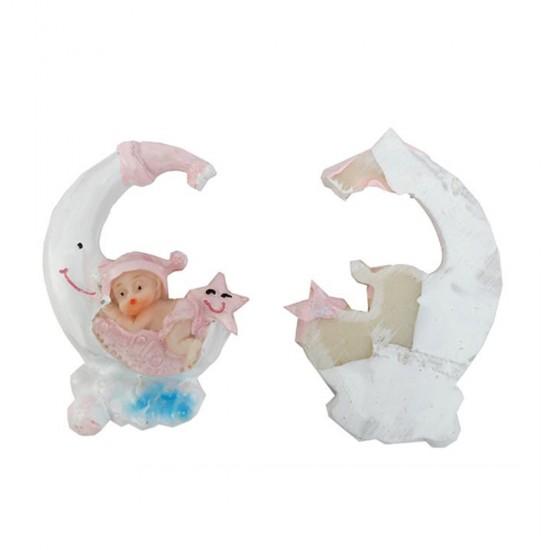 Bebek Şekeri Biblosu Bebek Aydede Yıldızlı Minik (50 Adet)