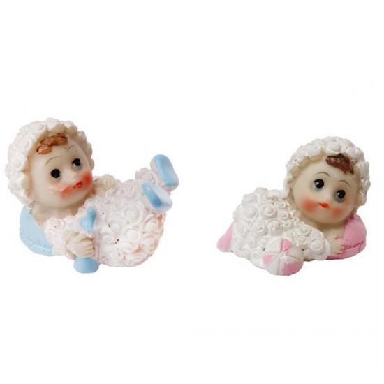 Bebek Şekeri Biblosu Kuzu Kostümlü (20 Adet)
