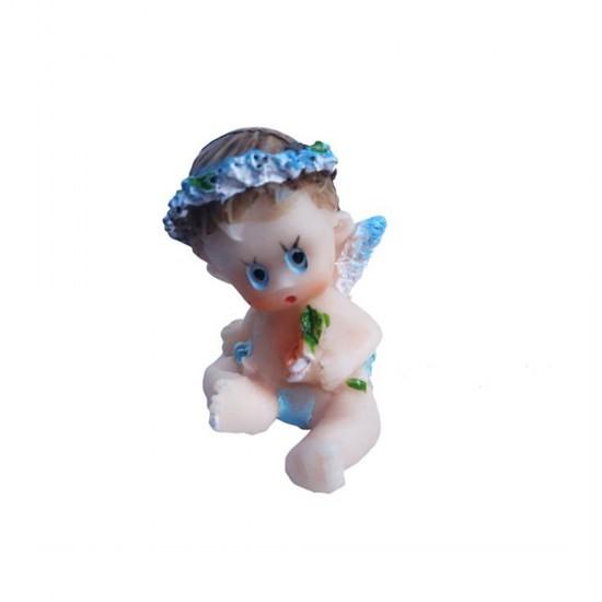 Bebek Şekeri Biblosu Elinde Çiçek (20 Adet)