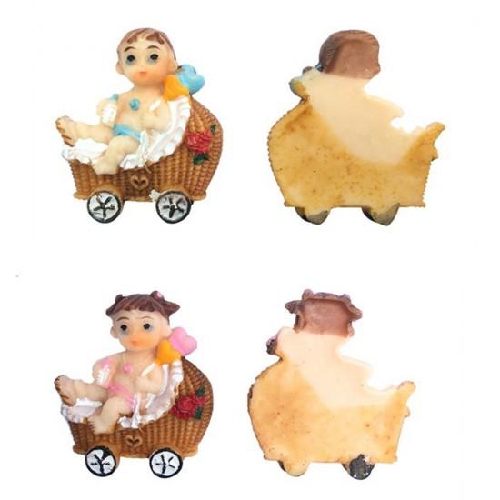 Bebek Şekeri Biblosu Bebek Pusetli (50 Adet)