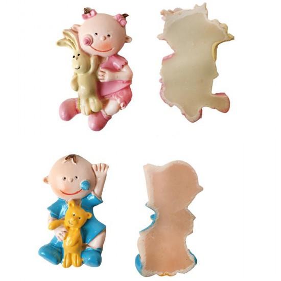 Bebek Şekeri Biblosu Tavşan Ve Ayıcıklı (20 Adet)