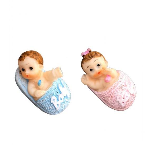 Bebek Şekeri Biblosu Bebek Terlik İçinde (50 Adet)