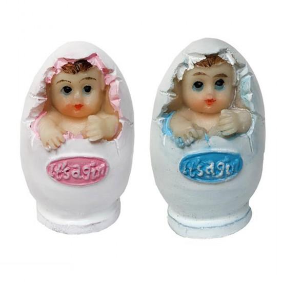 Bebek Şekeri Biblosu Yumurta İçinden Çıkan (20 Adet)
