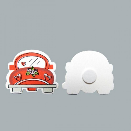 Sticker Ahşap Woswos (50 Adet)
