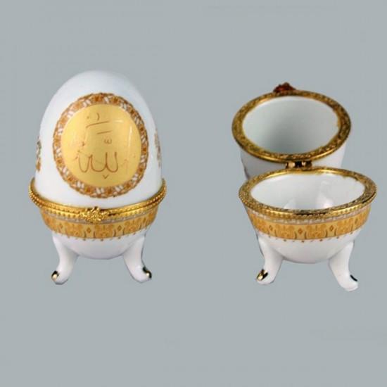 Yumurta Porselen Ayetli (10 Adet)