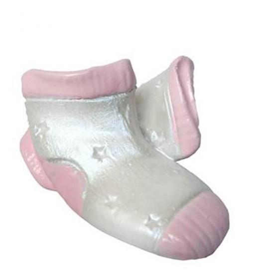Bebek Şekeri Biblosu Çorap Çiftli Polyester (50 Adet)