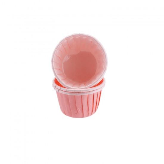 Cupcake Kalıbı Büyük Boy Düz Renk  62X40 Mm (50 Adet)