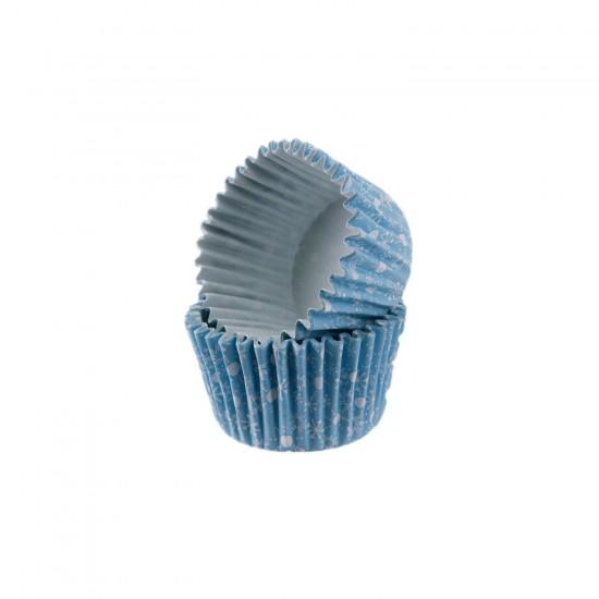 Cupcake Kalıbı Pet Kapsül  Kek Kalıbı48X34 MM (100 Adet)