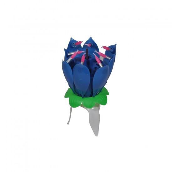 Doğum Günü Mumu Müzikli Açılır (Çiçek Mum)