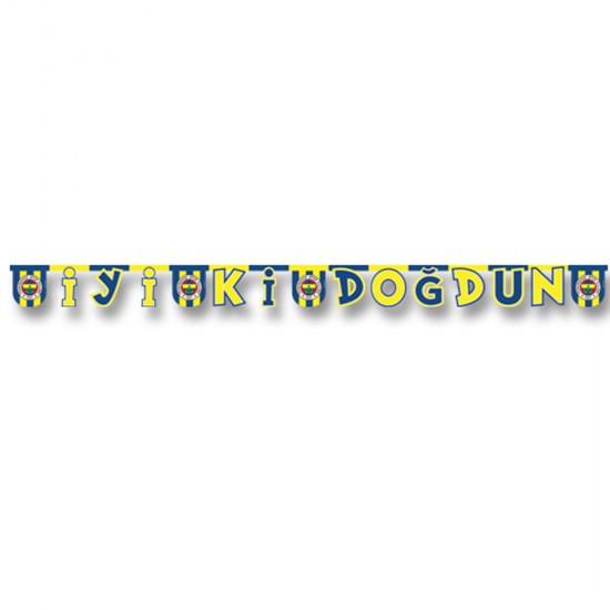 Fenerbahçe Temalı Karton İyiki Doğdun Duvar Yazısı