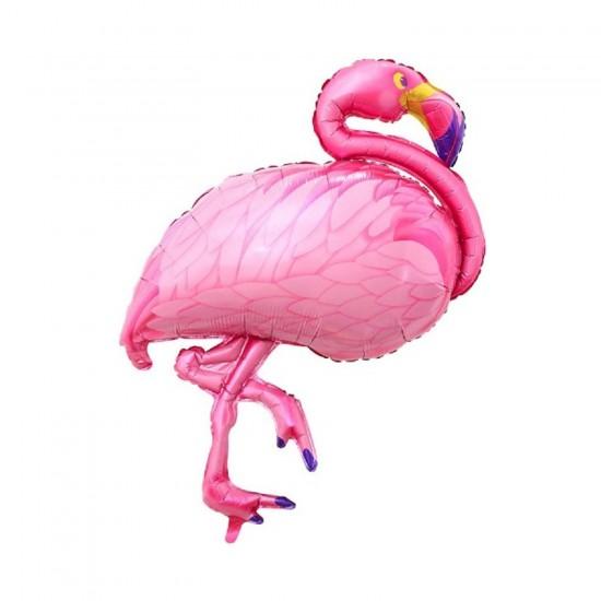 Flamingo Şekilli  Folyo Balon  80X60