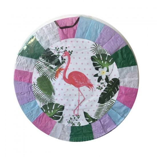 Flamingo Temalı Pinyata + Sopası 45X10 CM