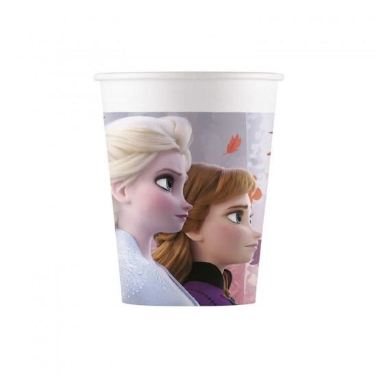 Frozen 2 Temalı  Bardak 180/200 Cc (8 Adet)