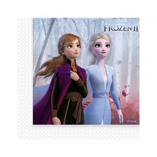 Frozen 2 Temalı  Kağıt Peçete 33X33 Cm (20 Adet)